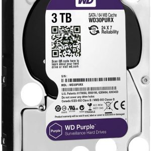 HDD WD Purple WD30PURZ 3TB/8,9/600 Sata III 64MB (D)