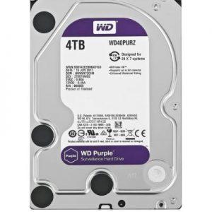 HDD WD Purple WD40PURZ 4TB/8,9/600 Sata III 64MB (D)