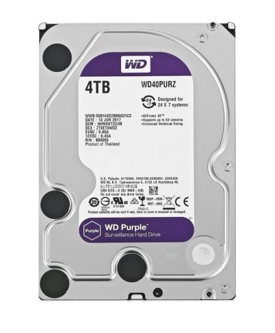 WD Purple WD40PURZ 4TB HDD