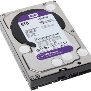 HDD WD Purple WD60PURZ 6TB/8,9/600 Sata III 64MB (D)