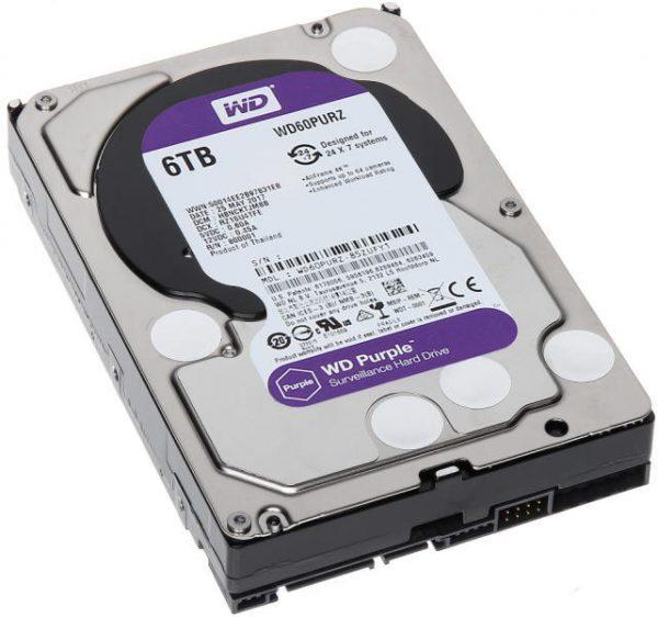 WD Purple WD60PURZ 6TB HDD