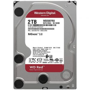 HDD WD Red WD20EFAX 2TB/8,9/600 Sata III 256MB Available 5-6 Working Days
