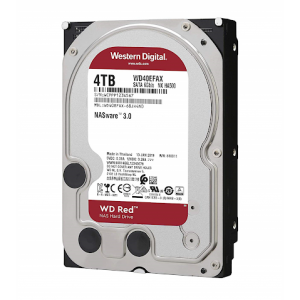 HDD WD Red WD40EFAX 4TB/8,9/600 Sata III 256MB Available 5-6 Working Days