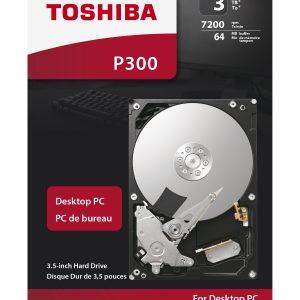 HDD Toshiba P300 HDWD130UZSVA 3TB/8,5/600/72 Sata III 64MB
