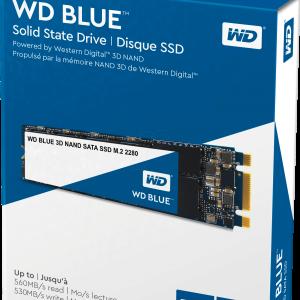SSD WD Blue 500GB Sata3  M.2 WDS500G2B0B 3D Nand 2280